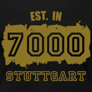 Established 7000 Stuttgart T-Shirts - Frauen Premium T-Shirt