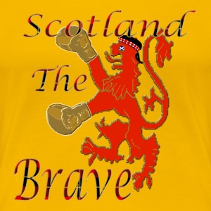 scotland boxing the brave T-Shirts - Women's Premium T-Shirt