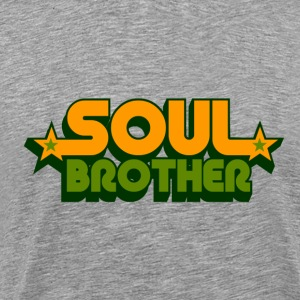 soul brother  T-shirts - Mannen Premium T-shirt