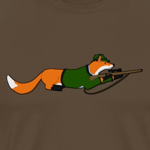 fox Hunting T-shirts - Mannen Premium T-shirt