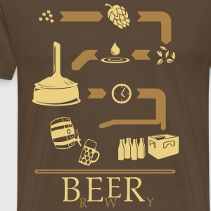 The way of Beer T-Shirts - Men's Premium T-Shirt