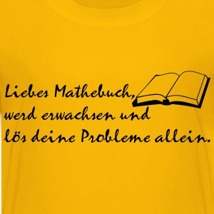 Mathebuch T-Shirts - Teenager Premium T-Shirt