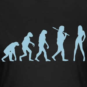 Evolution Babe - Frauen T-Shirt