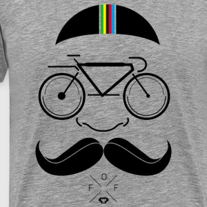 Ultimate Hipster Cycling - Männer Premium T-Shirt