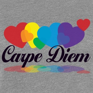 rainbow carpe diem T-Shirts - Frauen Premium T-Shirt