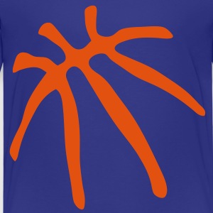 basketball trace trait ballon Tee shirts - T-shirt Premium Enfant