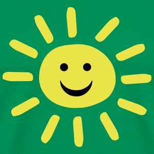 Smiley Summer Sun T-Shirts - Men's Premium T-Shirt