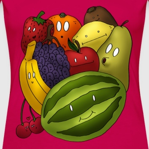 myshirtys Happy fruits - Frauen Premium T-Shirt