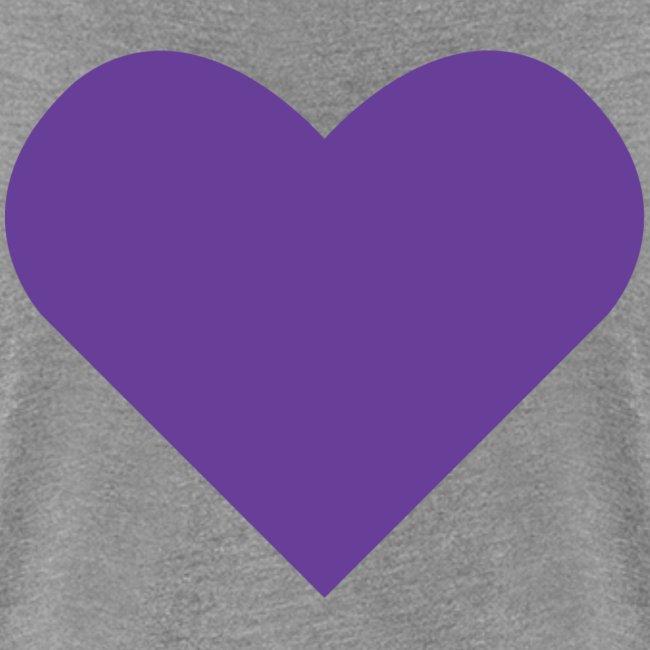 Heart Shirt Grey (Dam)