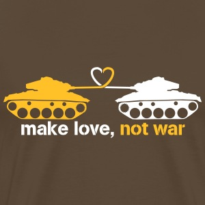 make love, not ware T-shirts - Premium-T-shirt herr