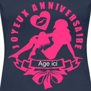 ajouter age ans fille sexy anniversaire Tee shirts - T-shirt Premium Femme