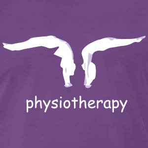 physiotherapy body move  T-Shirts - Men's Premium T-Shirt