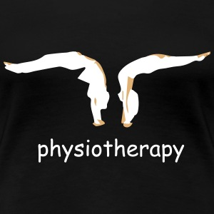 physiotherapy body move  T-Shirts - Women's Premium T-Shirt