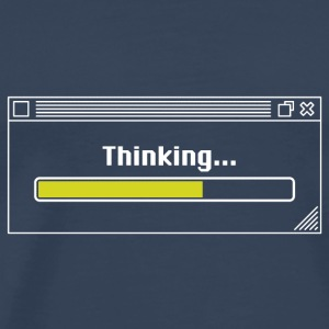 Thinking... (WOB) T-Shirts - Men's Premium T-Shirt