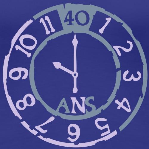 40 ans horloge temps montre anniversaire