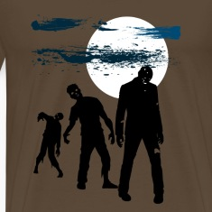 Vollmond und Zombies T-Shirts