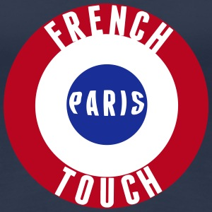 French Touch drapeau France Tee shirts - T-shirt Premium Femme