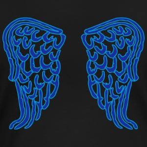 angel wings_V1 T-skjorter - Premium T-skjorte for kvinner