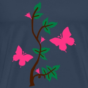 Butterflies in Nature T-Shirts - Men's Premium T-Shirt