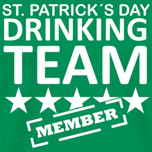 st. patrick´s day driking team member T-Shirts - Men's Premium T-Shirt
