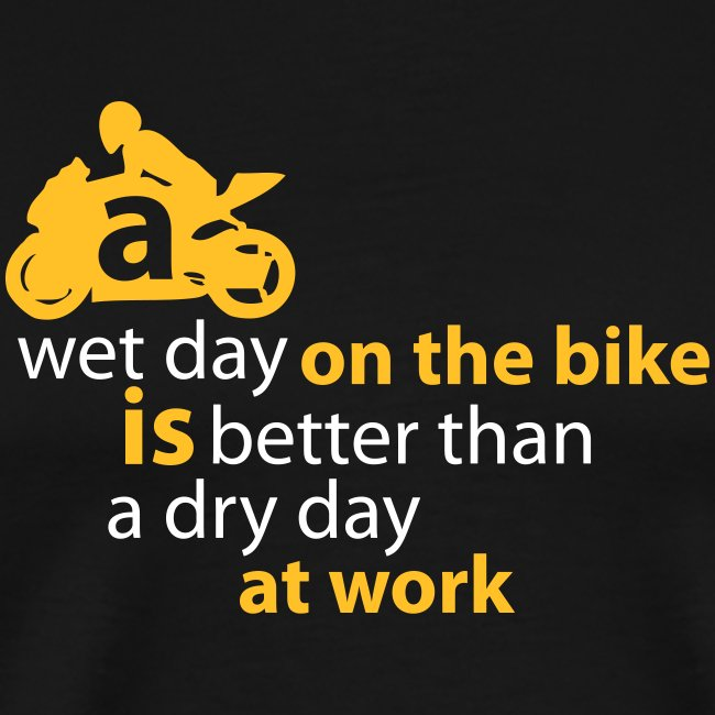A wet day T