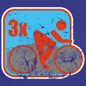 triathlon used look T-shirts - Herre premium T-shirt