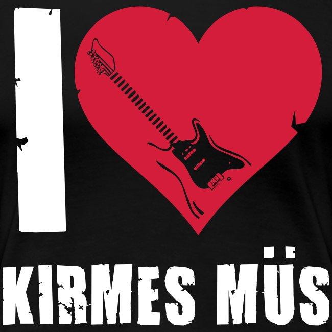 """Girlie """"I Love Kirmes Müs"""""""