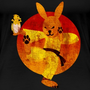Eastern Bunny, distressed T-Shirts - Frauen Premium T-Shirt