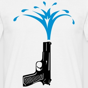 Water Gun  T-Shirts - Men's T-Shirt