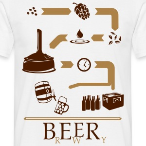 The way of Beer T-Shirts - Men's T-Shirt
