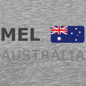 Classic T-Shirt MEL AUSTRALIA dark-lettered - Men's Premium T-Shirt