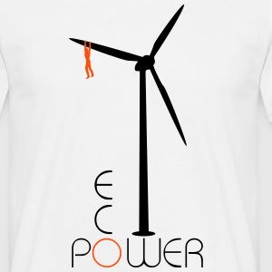 Windmill Eco Power  T-shirts - Herre-T-shirt