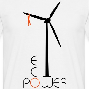 Windmill Eco Power  T-Shirts - Men's T-Shirt