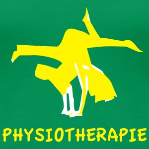 physiotherapy body move shirt T-Shirts - Women's Premium T-Shirt