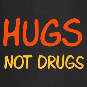 :: hugs not drugs :-: - Forklæde