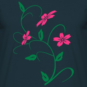 hibiscus blomst T-shirts - Herre-T-shirt