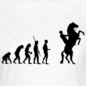 Evolution high horse  T-Shirts - Women's T-Shirt