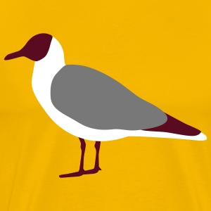 seagull  mouette  Tee shirts - T-shirt Premium Homme