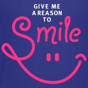 smile - smiley - lachen - a reason to smile - 2C T-Shirts - Teenager Premium T-Shirt