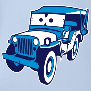 Cars for Kids: Safari-Jeep T-Shirts - Baby Bio-Kurzarm-Body
