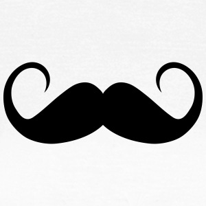 moustache curls T-Shirts - Women's T-Shirt
