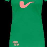 Motiv ~ Slanted – Art Type / Green Rose / Woman
