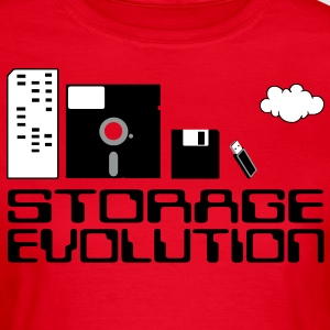 Computer storage evolution - T-shirt Femme