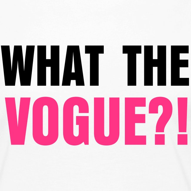 What The Vogue Women's Longsleeve