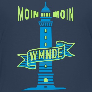 Moin moin WMNDE Banderole C2 T-Shirts - Teenager Premium T-Shirt