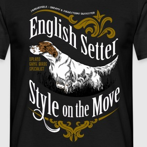 setter_style_on_dark T-Shirts - Men's T-Shirt