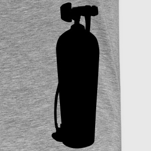 Diving Tank T-shirts - Herre premium T-shirt
