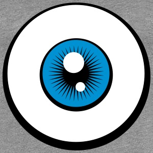 Eye Logo Design T-Shirts - Women's Premium T-Shirt