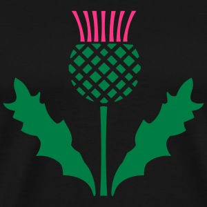 Scottish Thistle T-Shirts - Men's Premium T-Shirt