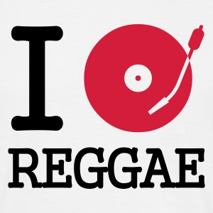 I dj / play / listen to reggae - T-skjorte for menn